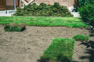 Albuquerque Soil Preparation for a New Sod Lawn by R & S Landscaping 505-271-8419